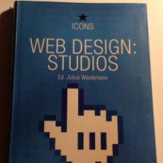 Libros de segunda mano: WEB DESIGN: STUDIOS. JULIUS WIEDEMANN. TASCHEN. Lote 243890260