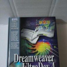 Libros de segunda mano: 46535 - DREAM WEAVER ULTRADEV 4 - POR LAZARO ISSI CAMY - EDITORIAL ANAYA - AÑO 2001 - NO LLEVA CD. Lote 243956525