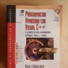 Livres d'occasion: PROGRAMACION AVANZADA CON VISUAL C++ (INCLUYE CD-ROM) - DAVID J. HRUGLINSHI - MICROSOFT PRESS - 1996. Lote 244817085