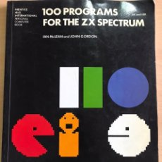 Libros de segunda mano: 100 PROGRAMA FOR THE ZX ESPECTRUM. Lote 245603710