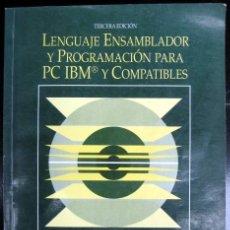Livros em segunda mão: LENGUAJE ENSAMBLADOR Y PROGRAMACIÓN PARA PC IBM Y COMPATIBLES. PETER ABEL. Lote 246059170