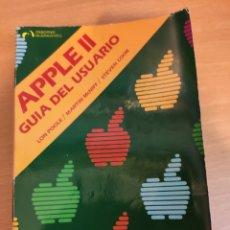 Livres d'occasion: APPLE II GUIA DEL USUARIO / LON POOLE - MARTIN MCNIFF - STEVEN COOK - OSBORNE / MCGRAW-HILL 1982. Lote 247339010