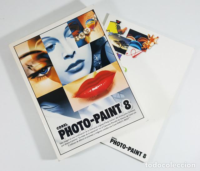MANUAL ORIGINAL DE COREL PHOTO PAINT 8 1997 688 PAG ESPAÑOL + LIBRO FUENTES, CLIP-ART, IMAGENES... (Libros de Segunda Mano - Informática)