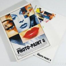 Libros de segunda mano: MANUAL ORIGINAL DE COREL PHOTO PAINT 8 1997 688 PAG ESPAÑOL + LIBRO FUENTES, CLIP-ART, IMAGENES.... Lote 248429870