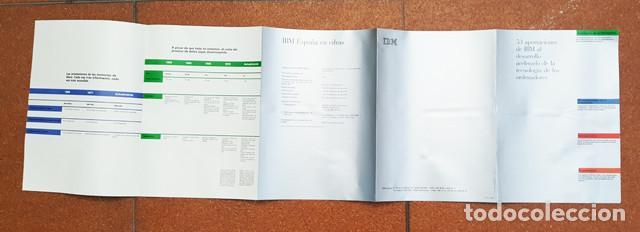 Libros de segunda mano: EXHIBIT IBM, EXPOSICION TECNOLOGIA INFORMACION 1986 157 PAG + 2 POSTERS, VER DESCRIPCION E IMAGENES - Foto 9 - 248435050
