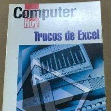 Libros de segunda mano: COMPUTER HOY LIBROS DE BOLSILLO: TRUCOS DE EXCEL. Lote 248508200