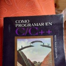 Libros de segunda mano: COMO PROGRAMAR EN C/C++ (2ª ED.) DEITEL & DEITEL. Lote 251816895