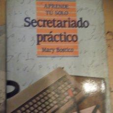 Libros de segunda mano: SECRETARIADO PRÁCTICO DE MARY BOSTICO. Lote 252113570