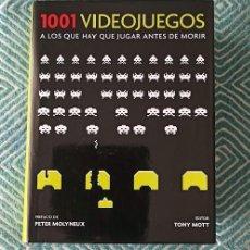 Livros em segunda mão: 1001 VIDEOJUEGOS A LOS QUE HAY QUE JUGAR ANTES DE MORIR. Lote 252283915