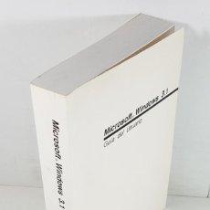 Libros de segunda mano: GUIA DEL USUARIO MICROSOFT WINDOWS 3.1 1992, 532 PAG,LIBRO QUE SE ENTREGABA CON EL SISTEMA OPERATIVO. Lote 253174755