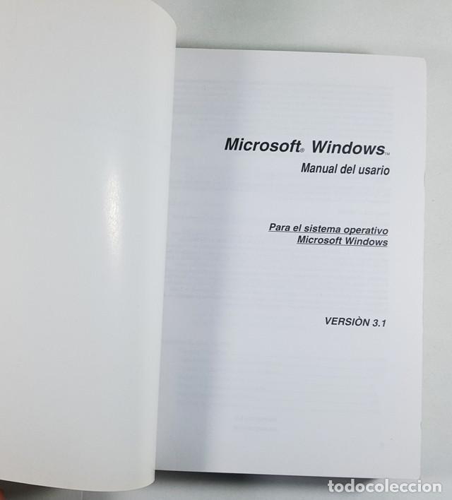 Libros de segunda mano: GUIA DEL USUARIO MICROSOFT WINDOWS 3.1 1992, 532 PAG,LIBRO QUE SE ENTREGABA CON EL SISTEMA OPERATIVO - Foto 3 - 253174755