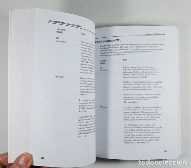 Libros de segunda mano: GUIA DEL USUARIO MICROSOFT WINDOWS 3.1 1992, 532 PAG,LIBRO QUE SE ENTREGABA CON EL SISTEMA OPERATIVO - Foto 4 - 253174755