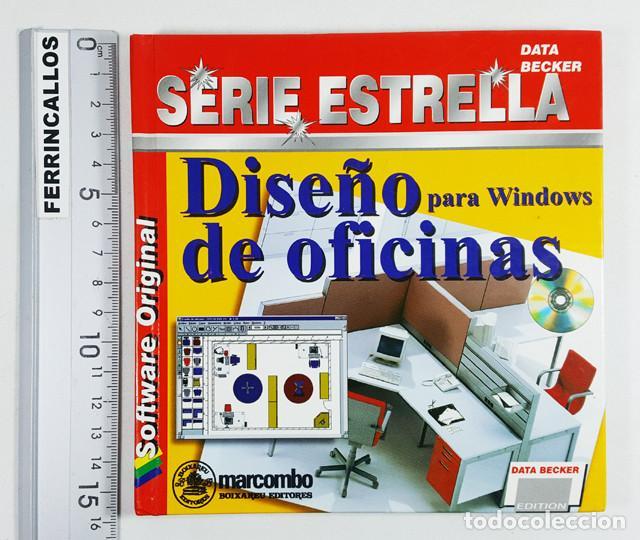 Libros de segunda mano: DISEÑO DE OFICINAS PARA WINDOWS, SERIE ESTRELLA DATA BECKER MARCOMBO 1996,LIBRO 94 PAG + CD PROGRAMA - Foto 2 - 253175890