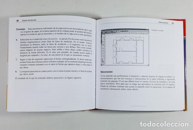 Libros de segunda mano: DISEÑO DE OFICINAS PARA WINDOWS, SERIE ESTRELLA DATA BECKER MARCOMBO 1996,LIBRO 94 PAG + CD PROGRAMA - Foto 4 - 253175890