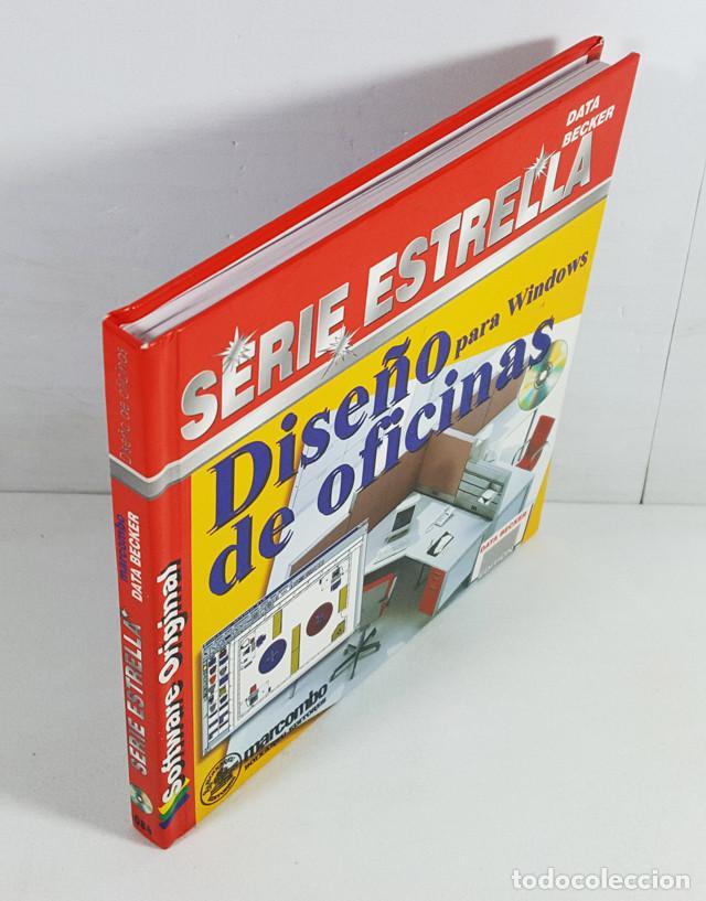 DISEÑO DE OFICINAS PARA WINDOWS, SERIE ESTRELLA DATA BECKER MARCOMBO 1996,LIBRO 94 PAG + CD PROGRAMA (Libros de Segunda Mano - Informática)
