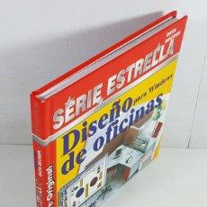 Libros de segunda mano: DISEÑO DE OFICINAS PARA WINDOWS, SERIE ESTRELLA DATA BECKER MARCOMBO 1996,LIBRO 94 PAG + CD PROGRAMA. Lote 253175890