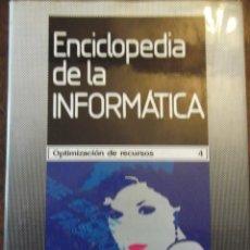 """Libros de segunda mano: ENCICLOPEDIA DE LA INFORMATICA """" OPTIMIZACIÓN DE RECURSOS """" AÑO 1987 400 PAG DE 29 X 22 X 4 CM. Lote 253552745"""