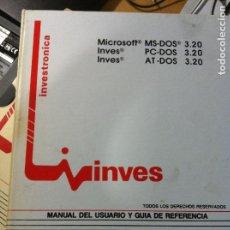 Libros de segunda mano: ANTIGUO MANUAL DE USUARIO Y GUIA DE REFERENCIA -DOS. Lote 254266305