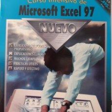 Libros de segunda mano: CURSO INTENSO DE MICROSOFT EXCEL 97 INFORMATICA RETRO CON CD ROM DATAFUTURA 1 EDICION 1999. Lote 254267955