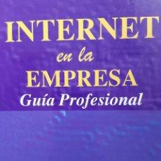 Libros de segunda mano: INTERNET EN LA EMPRESA GUIA PROFESIONAL DANIEL RAMIRO SANCHEZ CRESPO DALMAU 1996 INFORMATICA. Lote 254289220