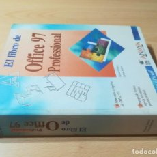 Libros de segunda mano: EL LIBRO DE OFFICE 97 PROFESIONAL / ANAYA / / AE102. Lote 257476965