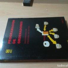 Libros de segunda mano: DICCIONARIO DE PROCESO DE DATOS / PROGRAMACION DE ORDENADORES / TESYS / AH-39. Lote 257478095
