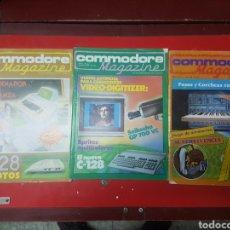Libros de segunda mano: LOTE REVISTAS COMMODORE MAGAZINE. Lote 258210460