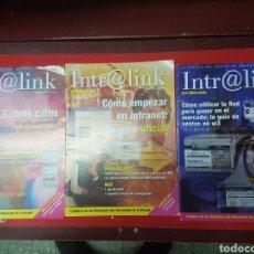 Libros de segunda mano: LOTE REVISTAS INTR@LINK ORDENADORES IBM. Lote 258210935