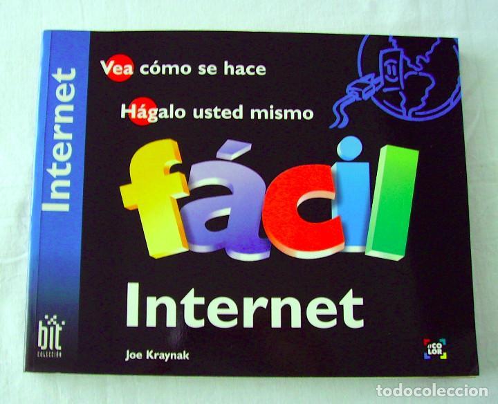 INTERNET FÁCIL. JOE KRAYNAK. (Libros de Segunda Mano - Informática)