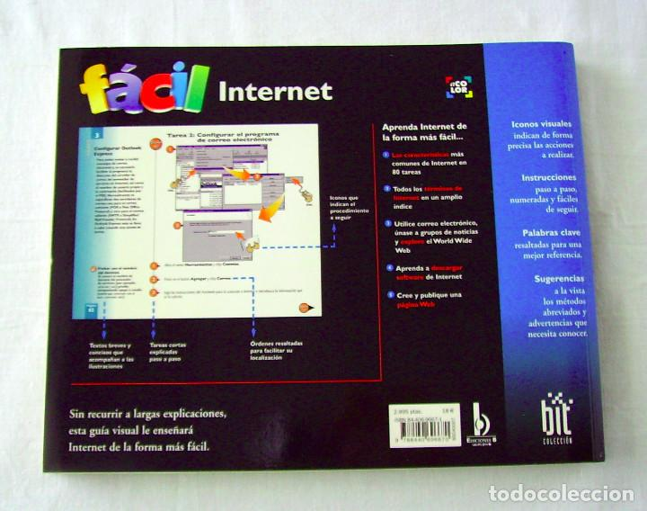 Libros de segunda mano: INTERNET FÁCIL. JOE KRAYNAK. - Foto 2 - 262776860