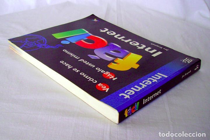 Libros de segunda mano: INTERNET FÁCIL. JOE KRAYNAK. - Foto 4 - 262776860