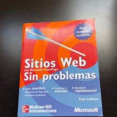 Libros de segunda mano: SITIOS WEB - SIN PROBLEMAS. Lote 262836910