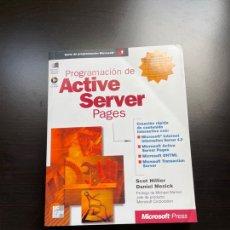 Libros de segunda mano: PROGRAMACIÓN DE ACTIVE SERVER PAGES. Lote 262837070