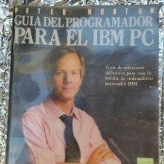 Libros de segunda mano: GUIA DEL PROGRAMADOR PARA EL IBM PC. Lote 265165249