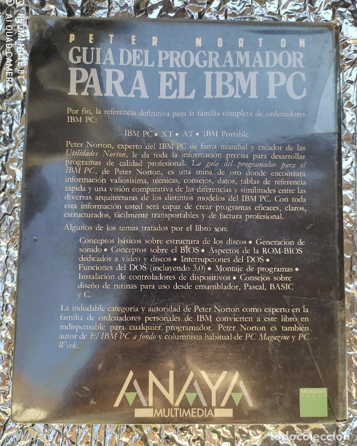 Libros de segunda mano: GUIA DEL PROGRAMADOR PARA EL IBM PC - Foto 2 - 265165249