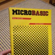 Libros de segunda mano: LIBRO MICROBASIC BÁSICO SINCLAIR DE RAFAEL DE PRADES. Lote 273541738
