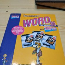 Libros de segunda mano: C-13 LIBRO SENSACIONAL WORD 95 PARA TORPES. Lote 276592633