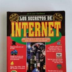 Libros de segunda mano: LOS SECRETOS DE INTERNET ANAYA 1995. Lote 276647668