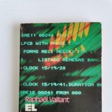 Libros de segunda mano: EL ORDENADOR EN CASA RAPHAËL VAILLANT PRIMERA EDICIÓN 1983. Lote 276649653