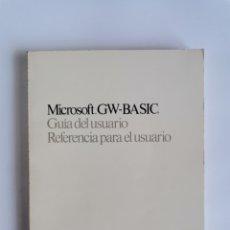Libros de segunda mano: MICROSOFT MS-DOS GUÍA DEL USUARIO VERSION 4 1989. Lote 276650698