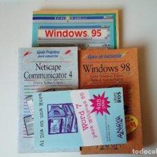 Libros de segunda mano: LOTE DE LIBROS INFORMÁTICA. Lote 276672683