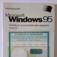Livros em segunda mão: MANUAL SISTEMA OPERATIVO WINDOWS 95 CON LICENCIA DE USUARIO - PRECINTADO. Lote 276724393
