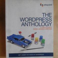 Libros de segunda mano: THE WORDPRESS ANTHOLOGY - SITEPOINT - 2011. Lote 277173863