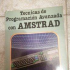 Livros em segunda mão: TÉCNICAS DE PROGRAMACIÓN AVANZADA CON AMSTRAD. Lote 277297258