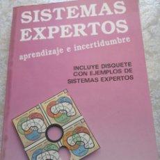 Livros em segunda mão: SISTEMAS EXPERTOS - APRENDIZAJE E INCERTIDUMBRE. Lote 277428603