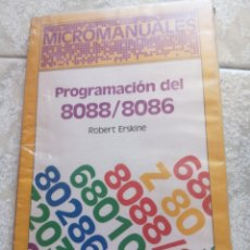 Libros de segunda mano: PROGRAMACIÓN DE 8088/8086. Lote 277431013