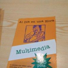 Libros de segunda mano: C-19 LIBRO AL DIA EN UNA HORA MULTIMEDIA ANAYA. Lote 277835753