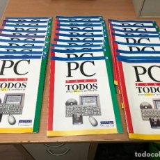 Libros de segunda mano: 25 FASCICULOS - PC PARA TODOS - CURSO FÁCIL DE INFORMÁTICA. Lote 281966238
