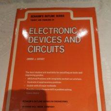 Libros de segunda mano: ELECTRONIC DEVICES AND CIRTCUITS. Lote 284251968