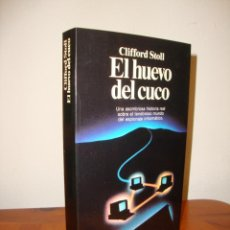 Libros de segunda mano: EL HUEVO DEL CUCO - CLIFFORD STOLL - PLANETA, MUY BUEN ESTADO. Lote 286571743